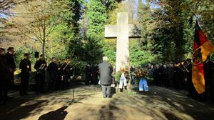 Gedenkfeier zum Volkstrauertag am 18. November auf dem Friedhof St. Laurentius