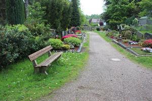 Hintertürchen am Friedhof wieder geöffnet