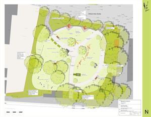 Spiel, Spaß und Erholung im Mehrgenerationenpark - Planung im Ausschuss vorgestellt