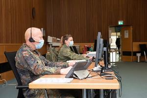 Die Bundeswehr unterstützt den Rheinisch-Bergischen Kreis bei der Nachverfolgung von Kontakten