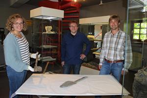 Bergbau am Lüderich schon in der Eisenzeit - Neue Erkenntnisse zu alten Werkzeugfunden im Bergischen Museum für Bergbau, Handwerk und Gewerbe