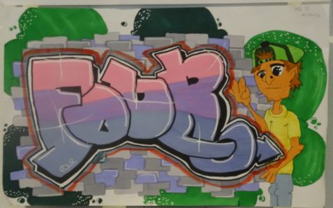 Graffiti Workshop 2016