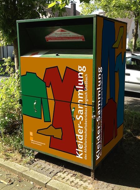 – Gladbach – Bergisch Stadt Altkleidercontainer Altkleidercontainer Stadt hrdsQtC