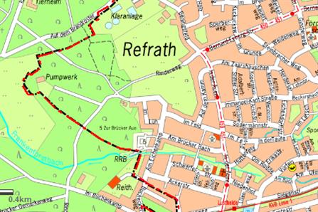 Klranlagebersicht Stadt Bergisch Gladbach