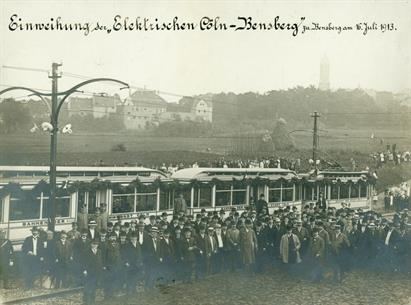 Strassenbahn, Foto Stadtarchiv